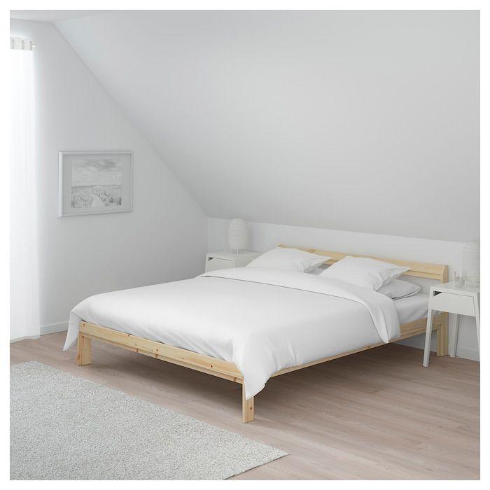 Neiden Struttura Letto Pino Betulla Luroy 160x200 Cm Ikea It Single Bed Frame Bed Frame Pine Bed Frame