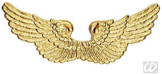 Engelsflügel Kostüm-Zubehör gold aus unserer Kategorie Weihnachtskostüme. Diese #Flügel sind einfach himmlisch! Verschnörkelt, golden und glänzend machen sie jedes Engel-Kostüm einzigartig - natürlich nicht nur an Weihnachten. Auch für Fasching sind diese #Flügel eine tolles #Kostümaccessoire.