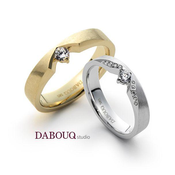 Dabouq Studio Couple Ring - DR0001 - Simple+ #DABOUQ #Jewelry #쥬얼리 #CoupleRing #커플링 #ProposeRing #프로포즈링 #프로포즈반지 #반지 #결혼반지 #Dai반지 #Diamond #Wedding_Ring  #Wedding_Band #Gold #White_Gold #Pink_Gold #Rose_Gold