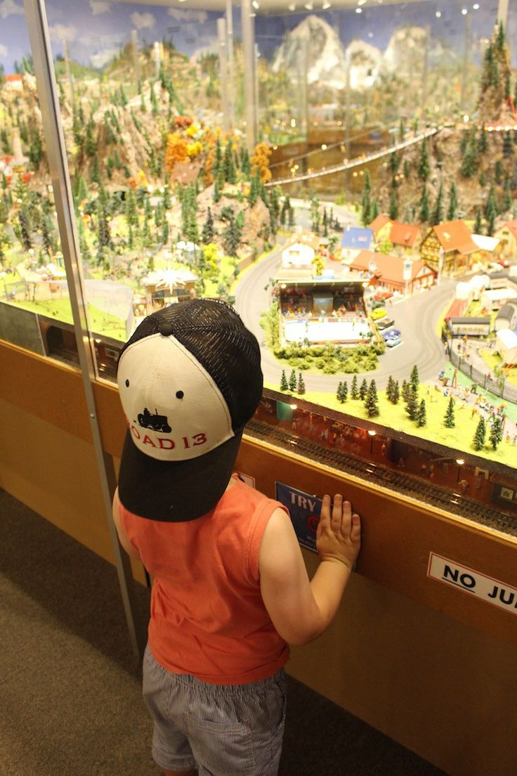 The Desert Model Railroad Museum in Osoyoos, BC is a great place for young and old alike! #Model #Train #Museum