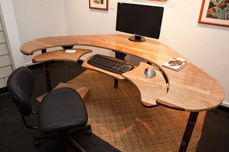 Best 25 custom computer desk ideas on pinterest gaming for Unique computer desk ideas