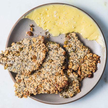 Seedy Oat Crackers Recipe