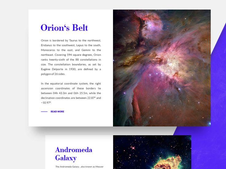 Orion's Belt & Myth by Michael Fuchs