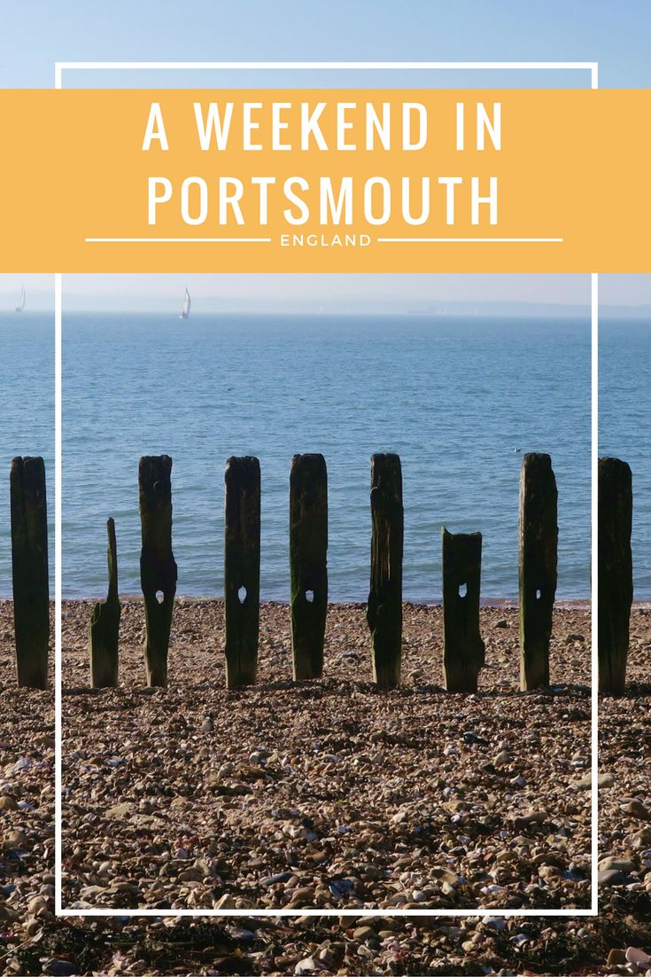 I'm trying to explore more of the UK at the moment - first stop was a weekend in Portsmouth!