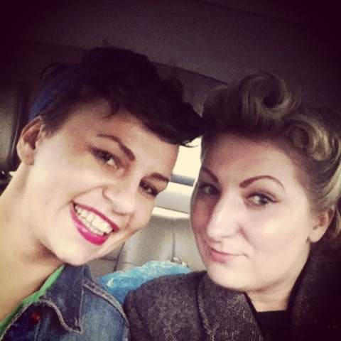 Great day with Magda at a Vintage Fair:)