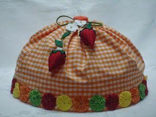 Eu Amo Artesanato: Cobre bolo
