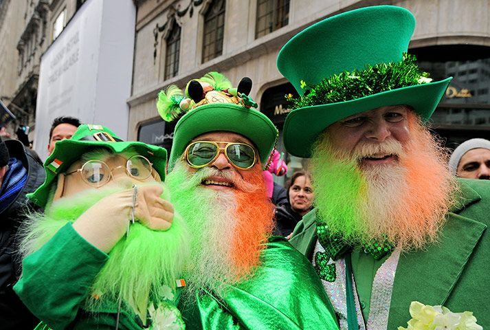 St Patrick's Day Parade: St Patrick's Day Parade - Slideshow