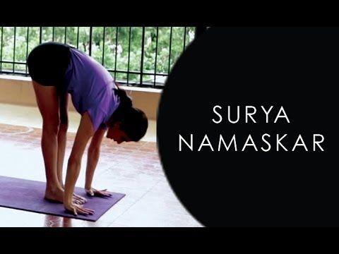 learn how to do surya namaskar sun salutation yoga step
