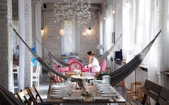 Кафе, веранда и крыша «Море внутри». Район Сокольники, ВАО