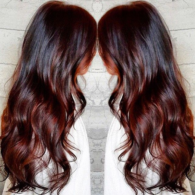Best 25 Cherry Cola Hair Color Ideas On Pinterest