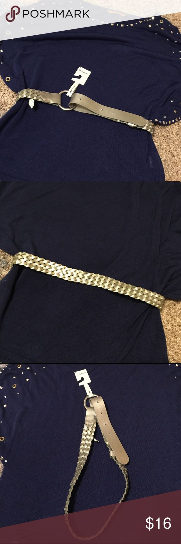 ✨Liz Claiborne ✨Silver Braided Belt This snazzy silver belt is perfect for adding a little flare💃🏼to that dull 😐outfit. The belt is ✨✨NWT ✨✨and original price of $32 😮 is shown in pictures. The size is small. Liz Claiborne Accessories Belts