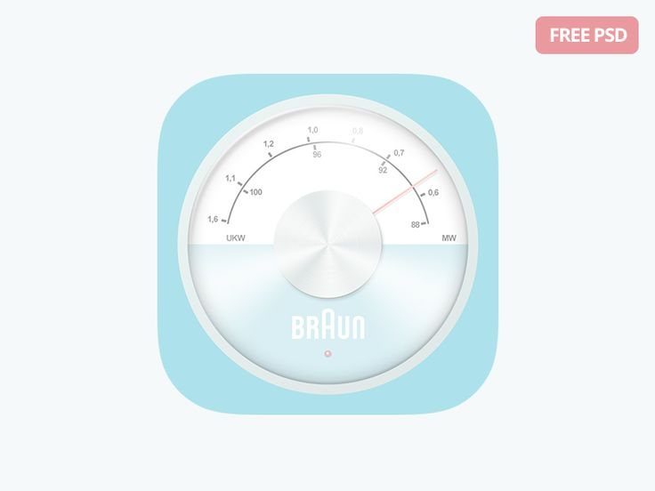 Free iOS Radio Icon by Michal Juricek