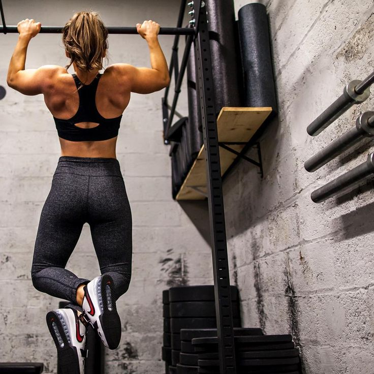Struggling with getting your first pull-up? Women are strong enough to do pull-ups too, it just takes a little time and persistence! Click to download Megsquat's FREE pull-up program!