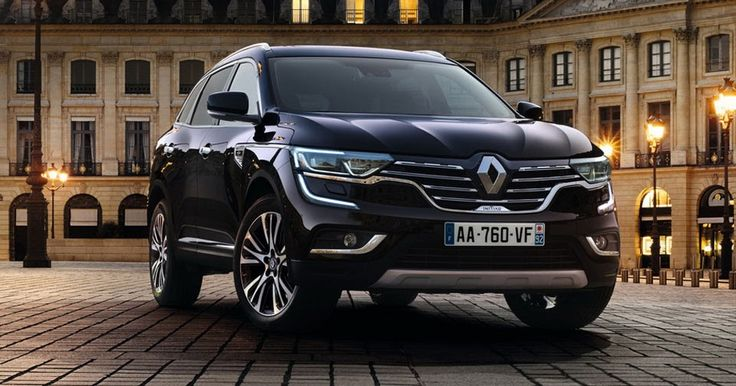 Renault Gives New Koleos An Initiale Paris Touch #New_Cars #Paris_Auto_Show