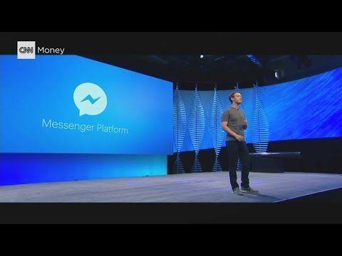 L'annonce des chatbots par Mark Zuckerberg au F8 developers conference à San Jose (avril 2016). Pour en savoir plus :  https://frenchemployerbranding.wordpress.com/2016/10/17/les-candidats-futurs-chatbots-du-recrutement/