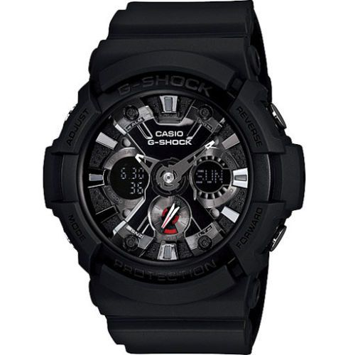 Casio G Shock Analogue Digital Mens Black Watch