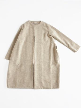 drop pocket coat:evameva