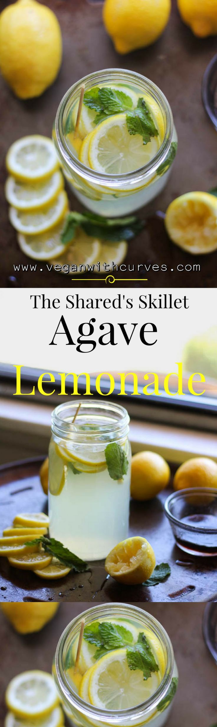 Summer is officially here. Simple lemonade recipe made with the natural healthy sweetener Agave Nectar.