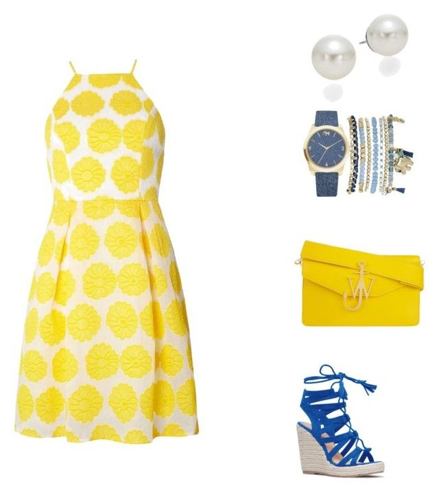 """""""Untitled #1"""" by kassiaraya on Polyvore featuring Dorothy Perkins, AK Anne Klein, Mixit and J.W. Anderson"""