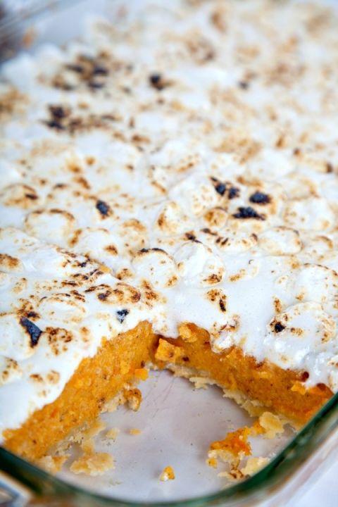 Southern Sweet Potato Pie Bars