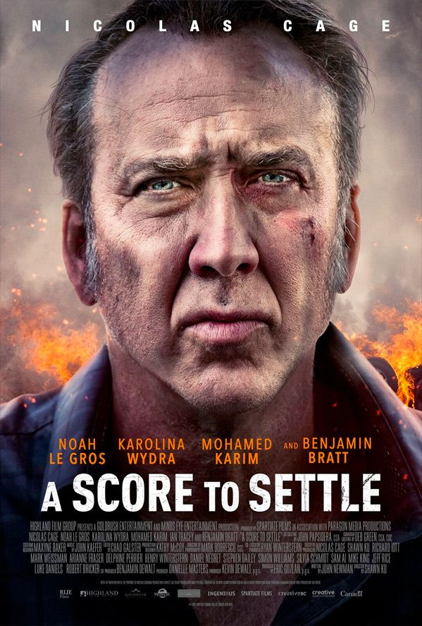A Score To Settle Movie Trailer Https Teaser Trailer Com Movie A Score To Settle Starring Nicolas Cage Ascor Nicolas Cage About Time Movie Hd Movies