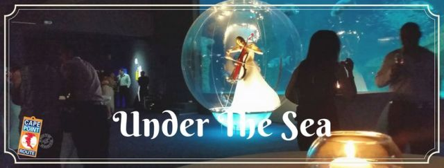 » 2017 Themed Year End Functions I Cape Town | UNDER THE SEA   Min 30 | Max 600 | From R595    Perfectly situated at the V & A Waterfront, the Two Oceans Aquarium is renowned for its magnificent marine displays as well as its distinctive venues. From formal dinners to cocktails parties, you'll host an unforgettable event!