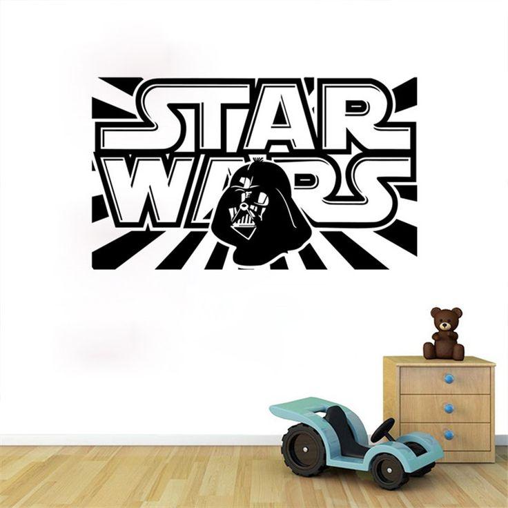 Star Wars Dark Vador Wall Sticker //Price: $8.69 & FREE Shipping //     #housedecoration