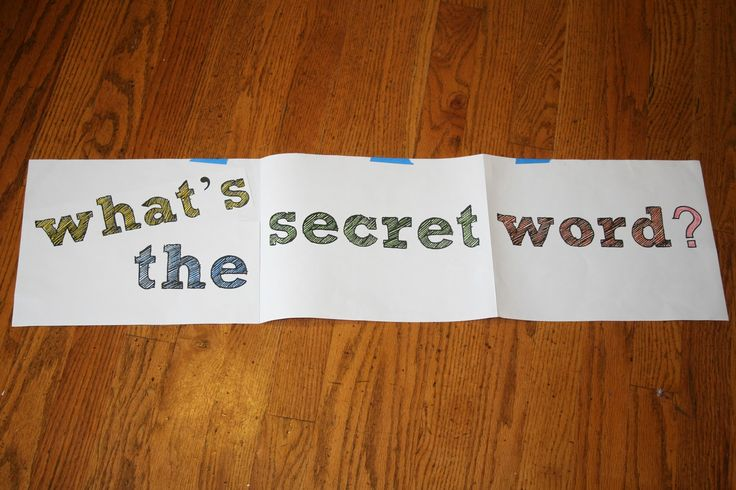 SINGING TIME IDEA: Fun Singing Time Review Game! Hum Your Favorite Hymn: What's the Secret Word?