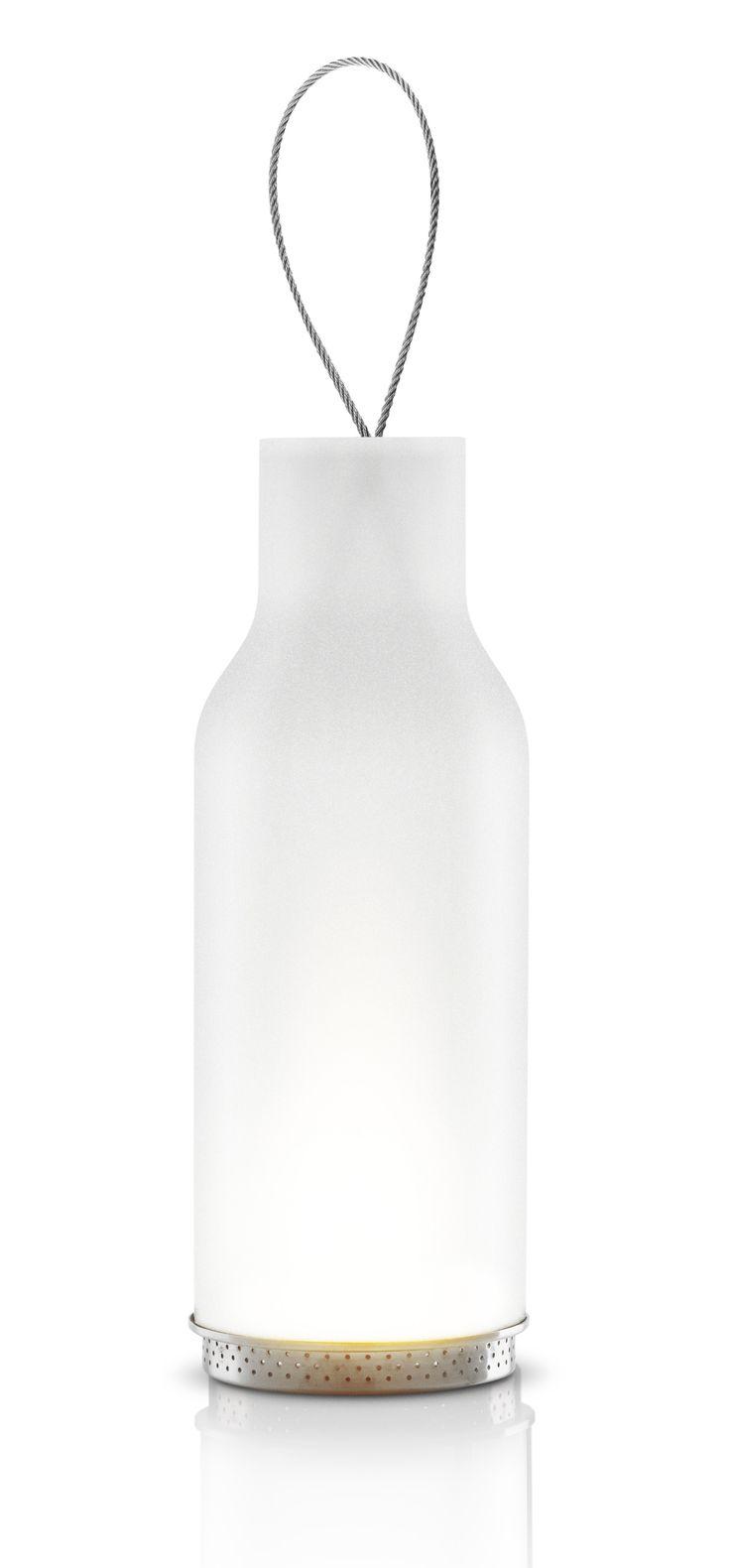 Big glass lantern by Eva Solo
