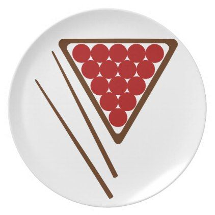 Snooker Rack and Snooker Cues Plate - kitchen gifts diy ideas decor special unique individual customized