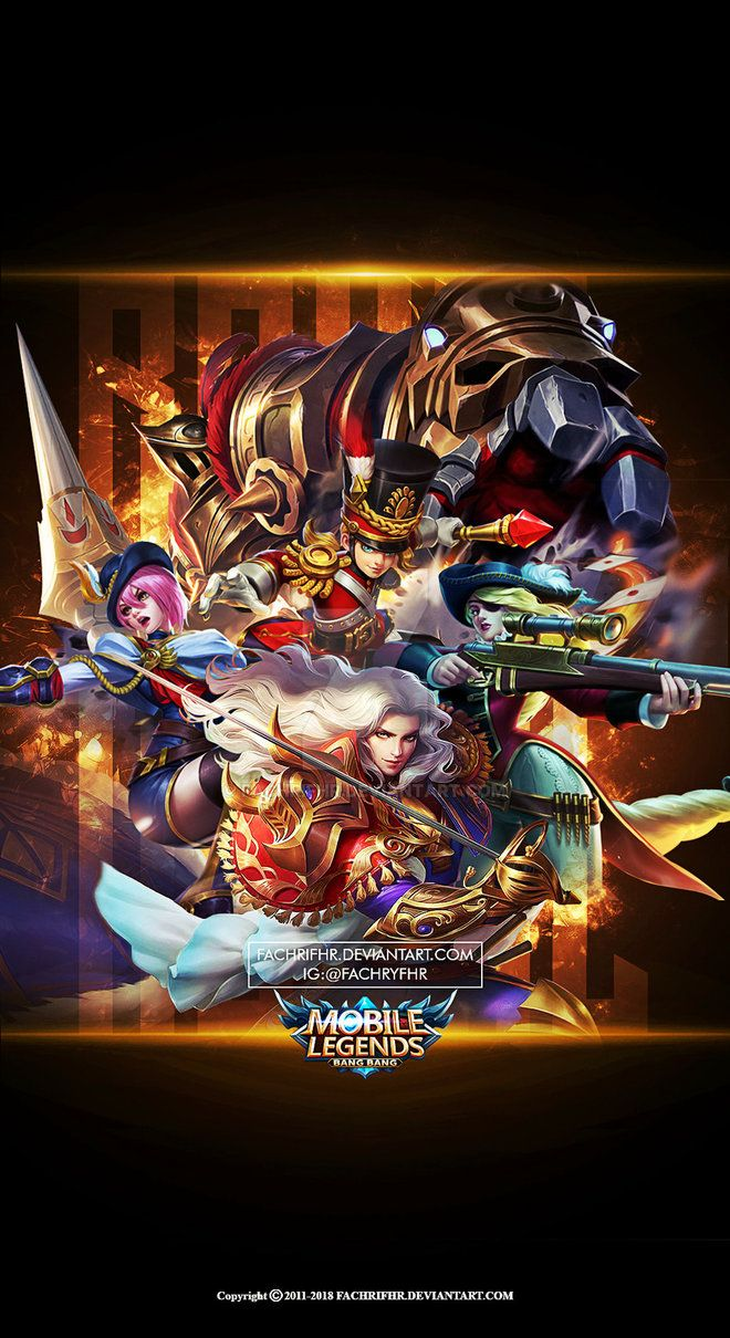 Wallpaper Phone Royal Squad Mobile Legend By Fachrifhr Mobile Legend Wallpaper Joker Iphone Wallpaper Phone Wallpaper