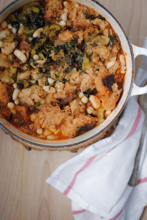 La perfetta ribollita (soupe toscane)