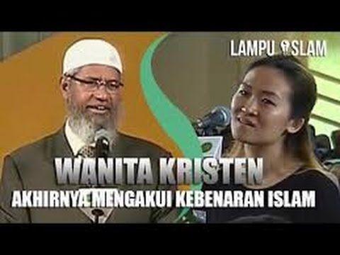 Dr Zakir Naik in Indonesia- A Christian woman acknowledges the Thruth of Islam- Wanita Kristen Akhirnya Mengakui Kebenaran Islam  Dr Zakir Naik UMY Yogya indonesia - YouTube
