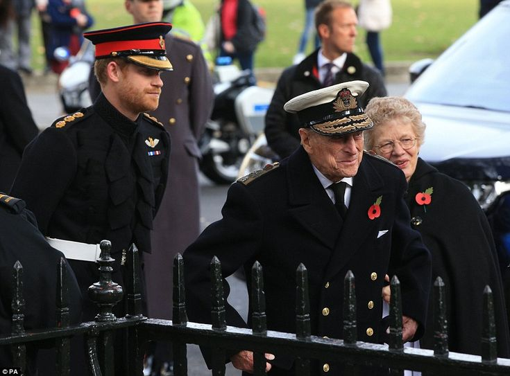 The 'Last Post' sounded followed by a two minutes' silence after which the two men visited...