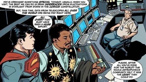 encontrado el planeta de Superman.