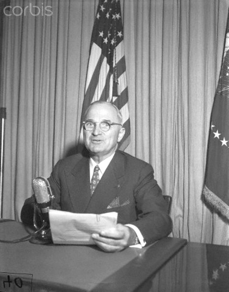 President Truman makes annual appeal in Community Chest Drive President Truman will make his annual appeal by radio in support of the community chest drive tonight. The Chief Executive will speak from the White House over several radio networks for 4 minutes, beginning at 10:53 P.M., (EDT).  September 26, 1947♥❃❋✽✾❀❃ ♥  http://en.wikipedia.org/wiki/Harry_S._Truman