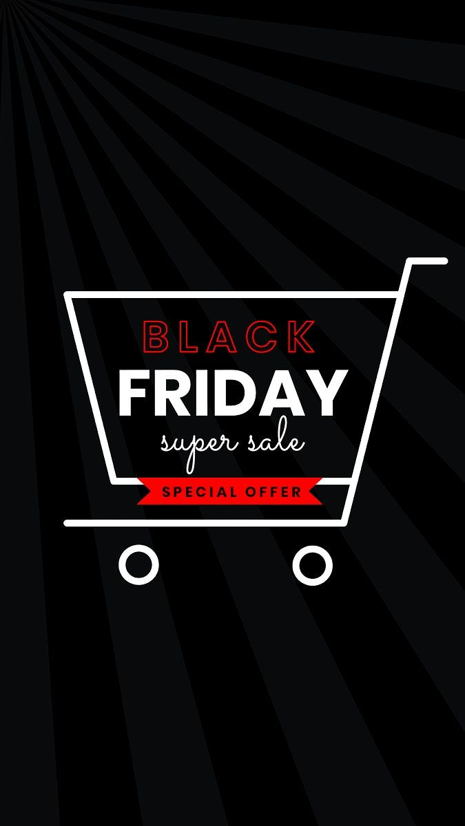 Download Premium Psd Of Psd Black Friday Shopping Cart Sale Announcement Black Friday Images Black Friday Marketing Black Friday