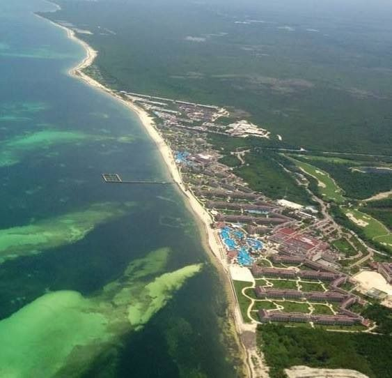 Great photo of Moon Palace, Cancun.