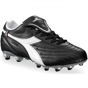 SALE - Diadora Stile 10 LT MG 14 Soccer Cleats Womens Black - Was $64.99. BUY Now - ONLY $53.99