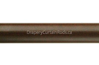brown colour curtain pole