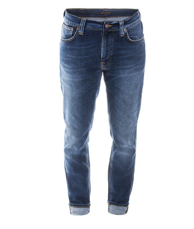 Nudie Jeans Lean Dean Bay Blue 30/32 • Neuheiten Neue Eco Fashion Styles für Männer und Damen • glore • glore
