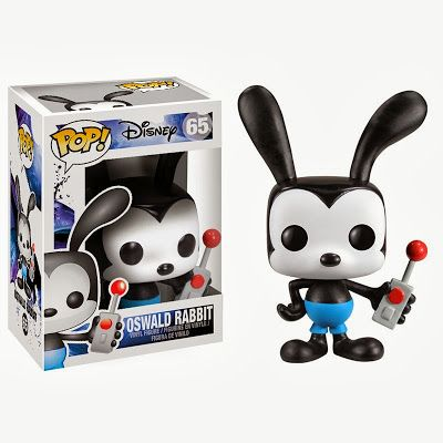 Oswald Rabbit Funko Pop vinyl I have the sdcc exclusive metallic