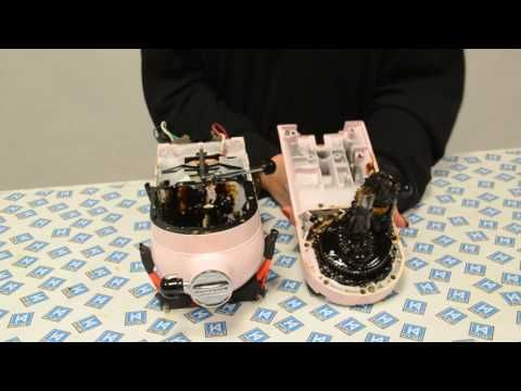 (44) Replacing the Speed lever on KitchenAid KSM150 mixer - YouTube