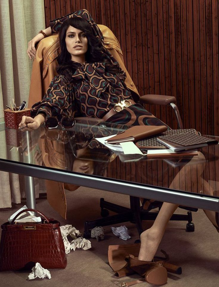 Amanda Wellsh by Zee Nunes for Vogue Brazil March 2015