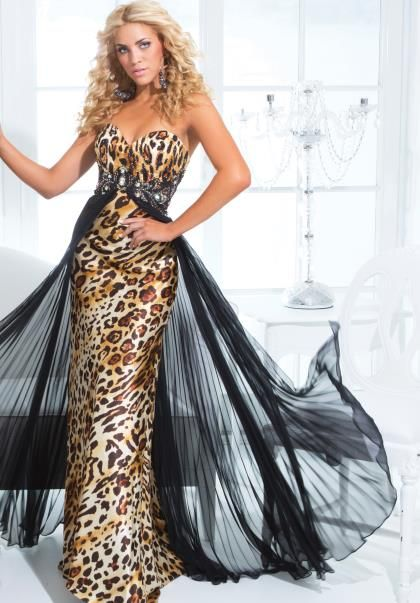 65 best Prom Dresses images on Pinterest | Cheetah print, Ivory ...
