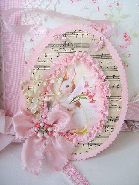 Beautiful handmade Easter card!