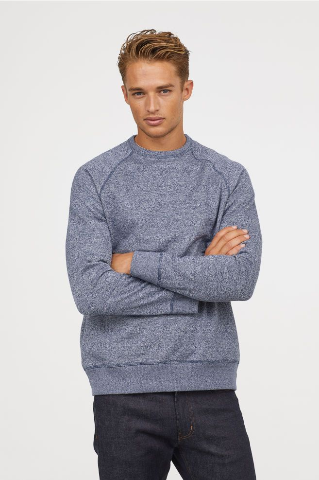 Sweatshirt Regular Fit | Sweatshirts, Men sweater, H&m