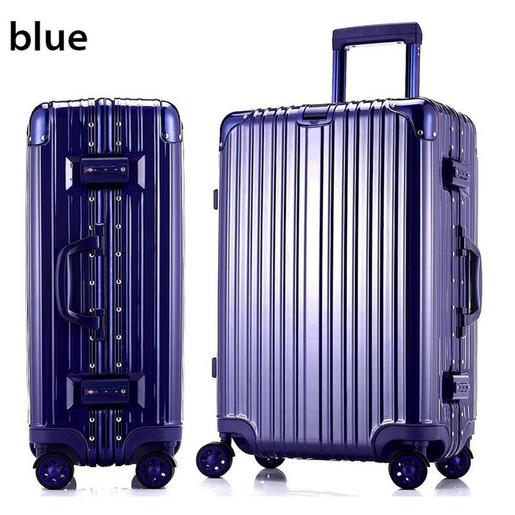 "20""22""24""26""29"" glossy PC&Aluminum frame carry on travel trolley case cabin hardside rolling luggage suitcase with wheels valise"