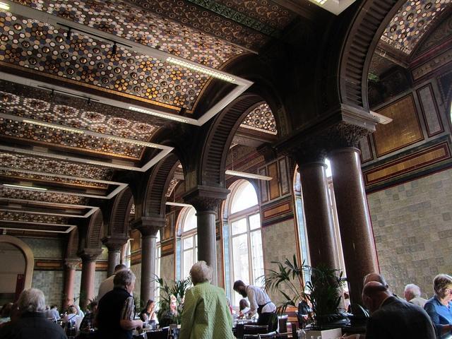 The Tiled Hall, Leeds Art Gallery