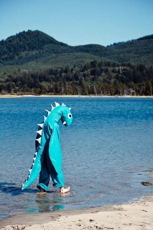 El monstruo del Lago Ness.